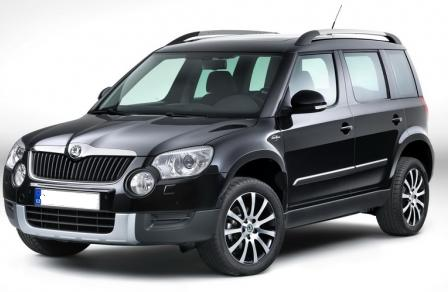 dachtr ger skoda yeti 5 door suv 2009 rails. Black Bedroom Furniture Sets. Home Design Ideas