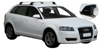 Whispbar by Yakima Flush Träger für  AUDI A3 SPORTBACK   2004-, (integratet rails),   K491 mount  + S5