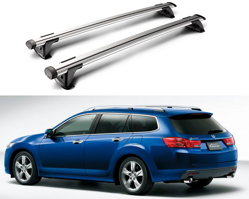 Whispbar Through Träger für HONDA ACCORD COMBI 2008 - 2012,     mit Dachreling, K328 mount + S16
