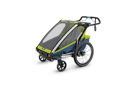 THULE CHARIOT CTS SPORT2, BLUE & GREEN