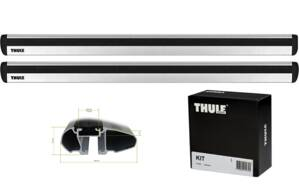 Thule  WingBar EVO,  BMW  1-serie, 3-dr Hatchback, 07-11, 12- , Kit 3028